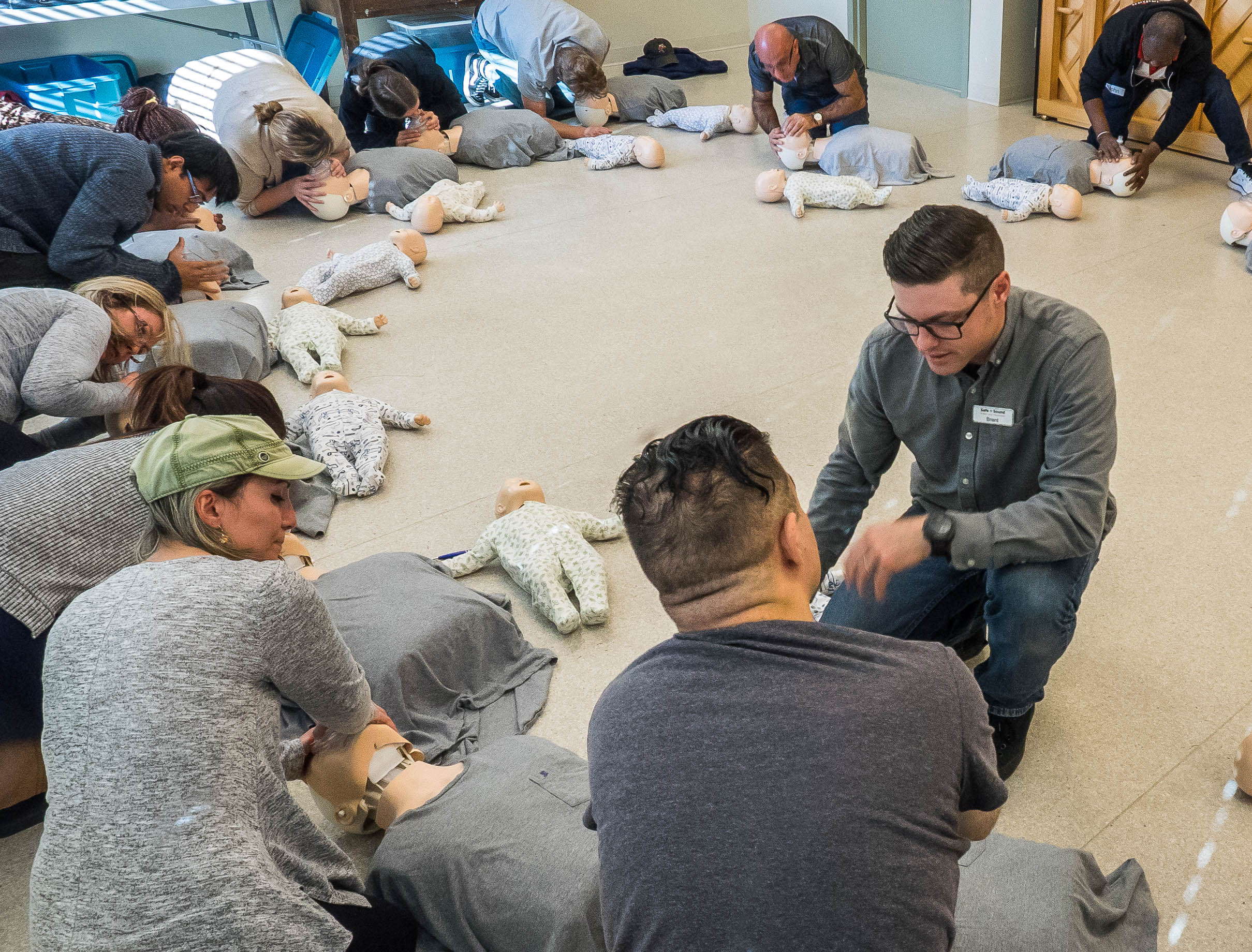 Private Onsite Group Training | Safe + Sound First Aid
